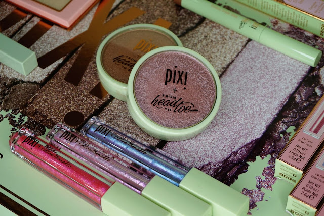 Pixi beauty makeup collaboration review with influencers Chloe Morello, Rachh Loves, Maryam Maquillige, Heart Defensor and From head to toe.