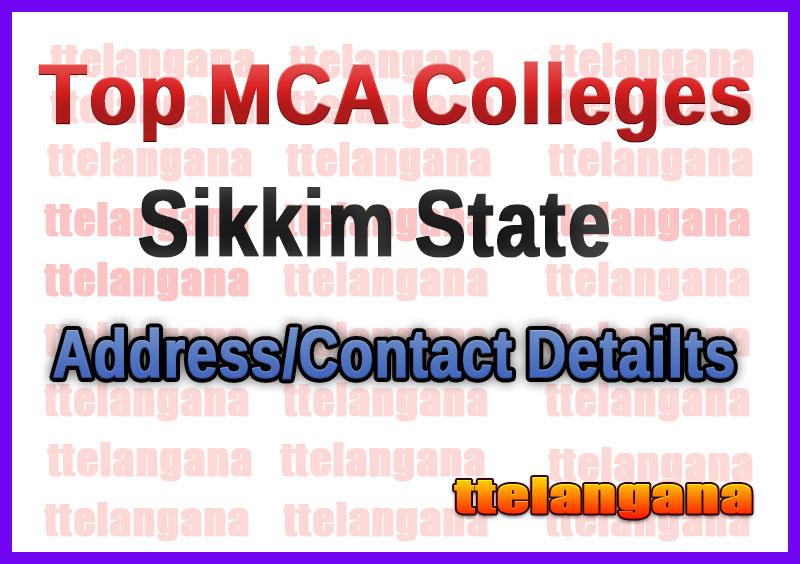Top MCA Colleges in Sikkim