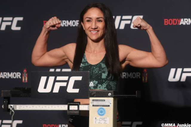Carla Esparza UFC 249 Weigh In