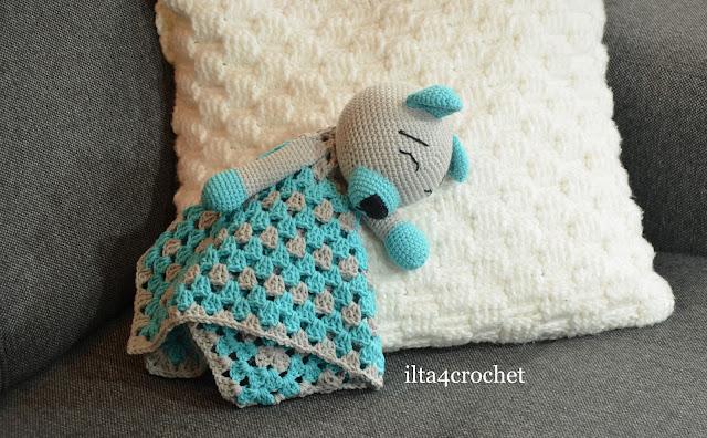 Szydełko miś crochet teddy bear