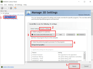 3 Cara Mengatasi OBS Studio Black Screen