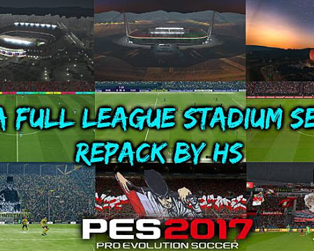 PES 2017 Mega Full League Stadium Server Repack