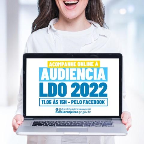 Nova Laranjeiras: Prefeitura transmitirá 'live' da audiência pública sobre LDO nesta terça-feira, 11