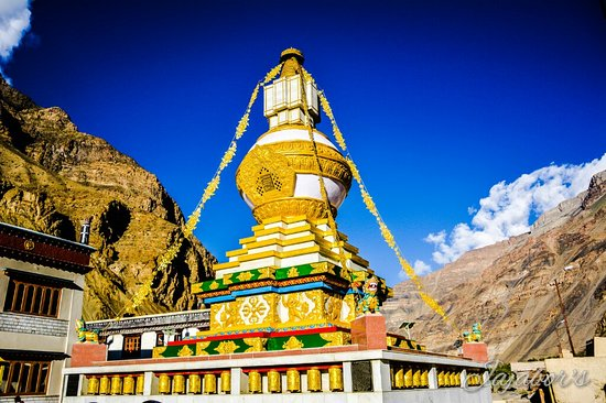 Lahaul & Spiti Tourist Attraction : Tabo Monastery