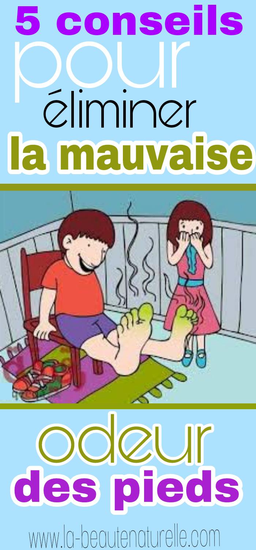 5 conseils pour éliminer la mauvaise odeur des pieds