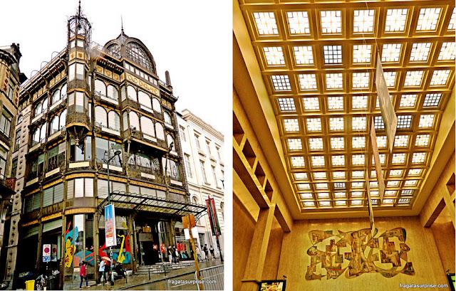 Obras de Victor Horta em Bruxelas: Museu dos Instrumentos Musicais e Estação Central