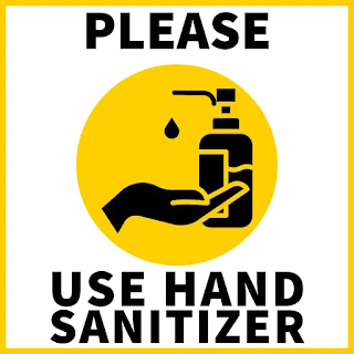 Covid sign for free, hand sanitizer, sanitize before entering images,