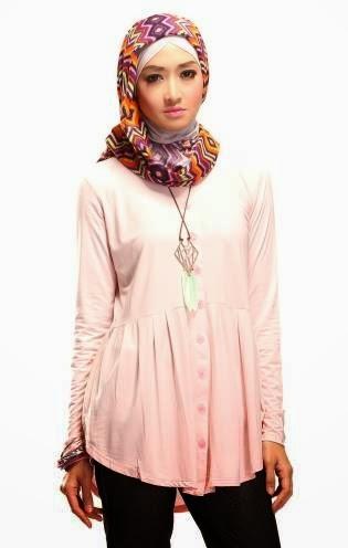 Baju Atasan Busana Muslim Terbaru