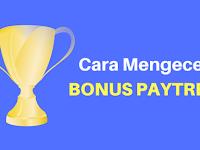 Cara Mengecek Bonus Paytren Dengan Mudah di Website Virtual Office