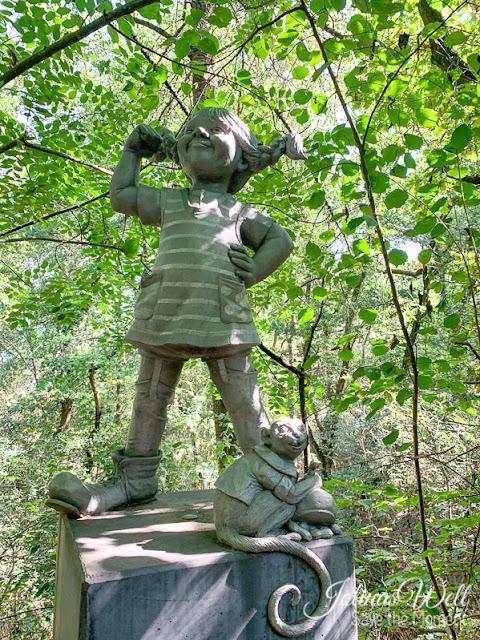 Statue von Pippi Langstrumpf im Appelbachtal