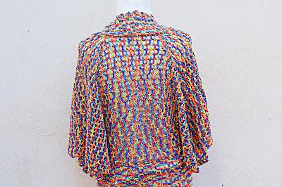 2 - Crochet IMAGEN Linda chaqueta mariposa a crochet y ganchillo fácil y rápida. MAJOVEL CROCHET