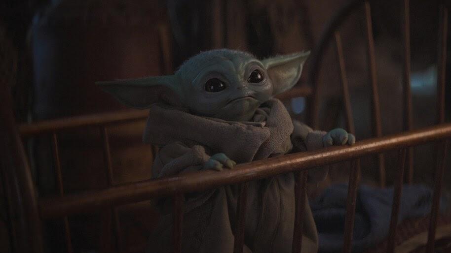Baby Yoda 4k Wallpaper 7 971