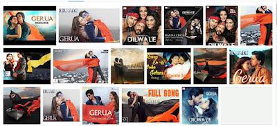 Lagu GERUA Ost Film Dilwale 2015
