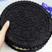 No Bake No Gelatine Cheesecake Giant Oreo