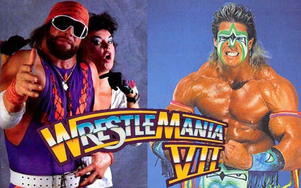 The Ultimate Warrior defeated Randy Savage(with ...