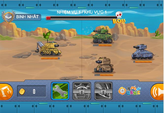Game Hạm đội xe tăng