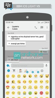 BBM ios Light V9 for Android V2.13.1.14 Apk