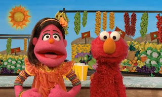 Elmo and Pilar discover something new about popsicles. Sesame Street C is for Cooking