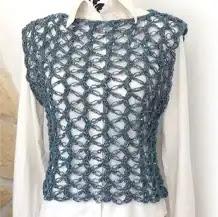 Chaleco Fácil a Crochet