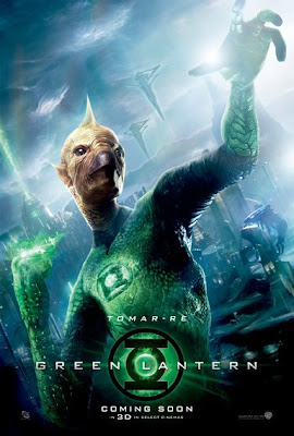 Green Lantern Character Movie Poster Set - Tomar-Re