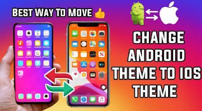 تطبيقات, لتحويل, هاتف, اندرويد, الى, آيفون, لتجربة, iOS, على, Android