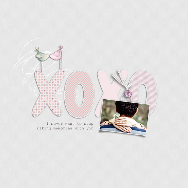 xoxo © sylvia • sro 2019 • someone special by dandelion dust designs