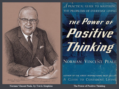 Norman Vincent Peale. Minister and Author. The Power of Positive Thinking. by Travis Simpkins