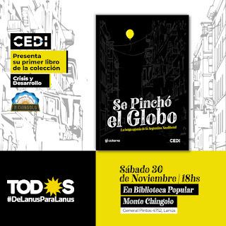 El CEDI presenta un libro sobre Políticas Públicas en la Biblioteca