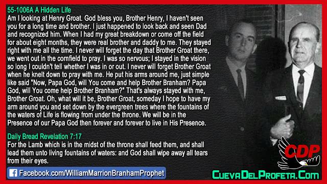 Papa God, will You come and help Brother Branham - William Branham
