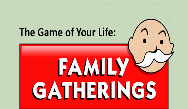 The Game of Your Life: Surviving Family Gatherings Edition #infographic
