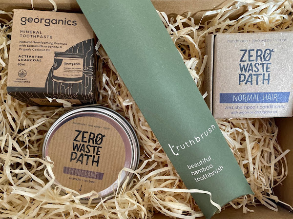 Review & Giveaway: Plastic Free Swaps for the Bathroom from EarthBits