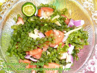 Kinilaw na Lato Recipe