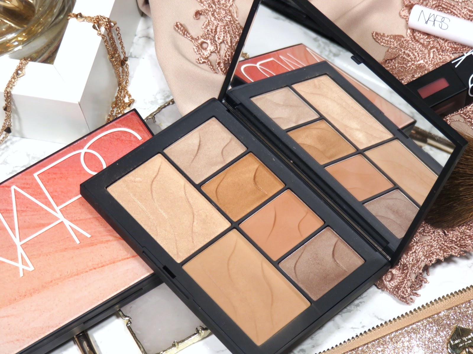 Review | NARS Summer Lights & Hot Nights Face Palettes