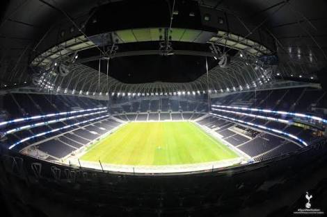 Photo of a football stadium