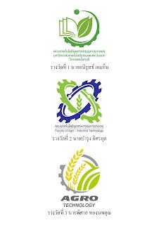 ผลประกวด ตราสัญลักษณ์คณะเทคโนโลยีอุตสาหกรรมการเกษตร มหาวิทยาลัยเทคโนโลยีราชมงคลตะวันออก วิทยาเขตจันทบุรี