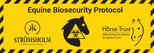 Stromsholm and Horse Trust worked together on an equine biosecurity protocol for farriers.