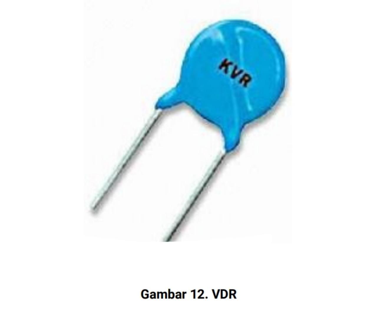 Jenis resistor vdr