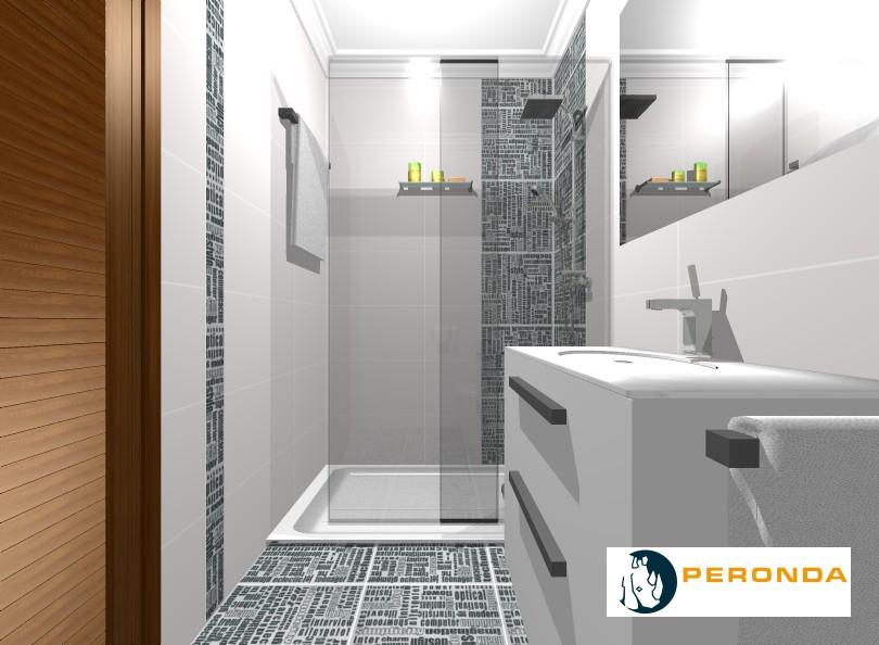 Decoracion de interiores proyecto de ba o sencillo moderno - Banos sencillos y modernos ...