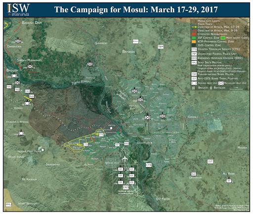 The Campaign for Mosul: March 17-29, 2017