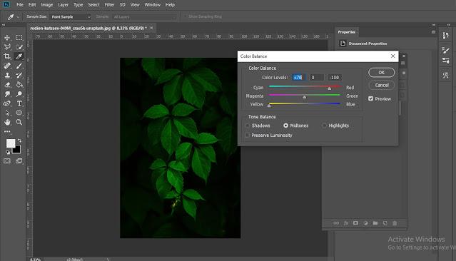 Cara merevisi warna foto di Photoshop