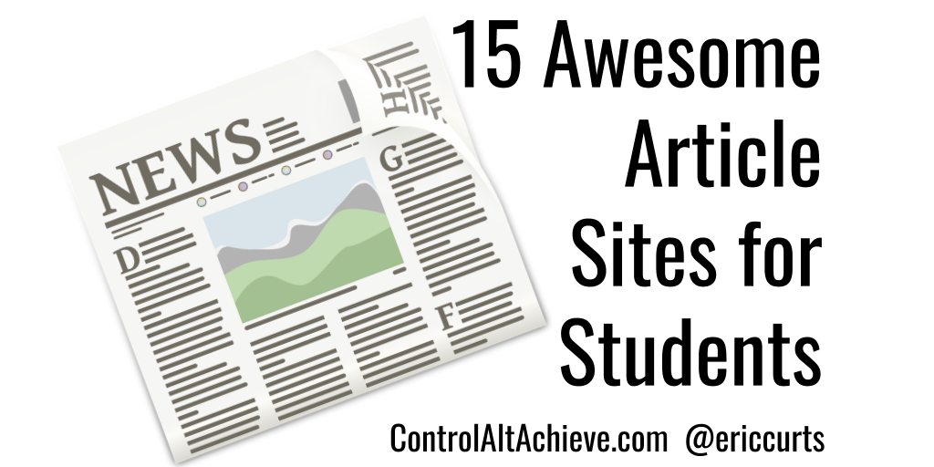 15 Awesome Article Sites for Students