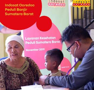 Indosat Ooredoo SumBar Gelar CSR Di Solok Selatan