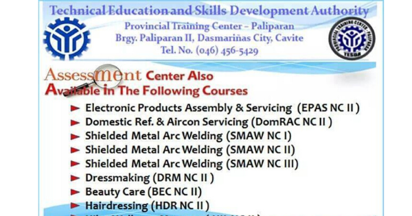 10+ Free Courses Offered | TESDA Training Program