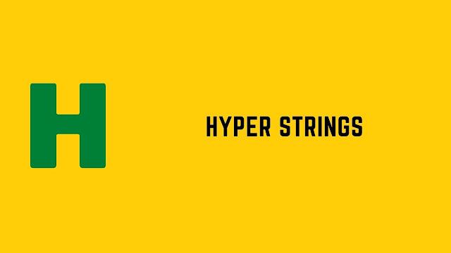 HackerRank Hyper Strings problem solution