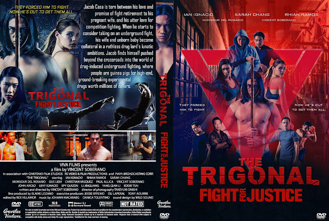 The Trigonal: Fight for Justice DVD Cover