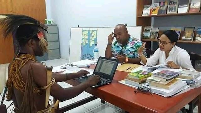 Mainset orang papua di uba dengan polah hidup jawa