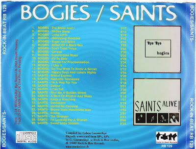 The Bogies  & The Saints
