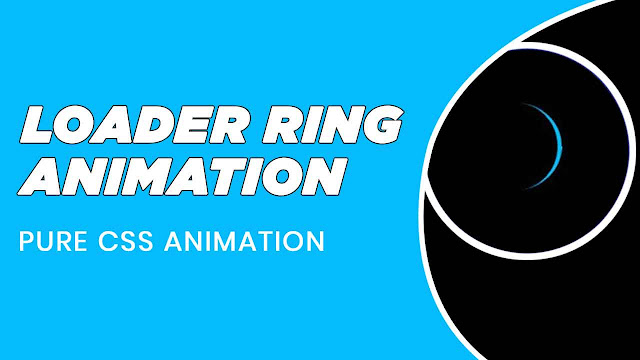 Simple Preloader Animation using html and css