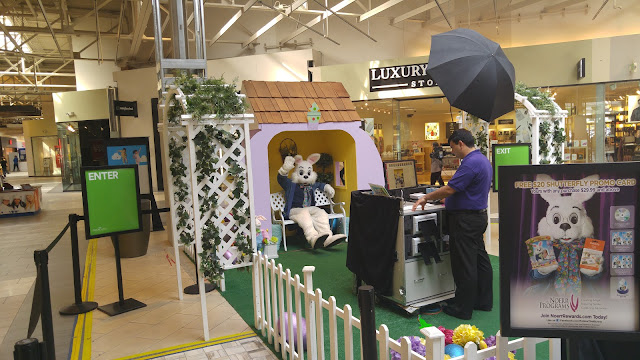 Easter Bunny at the Great Mall of the Bay Area