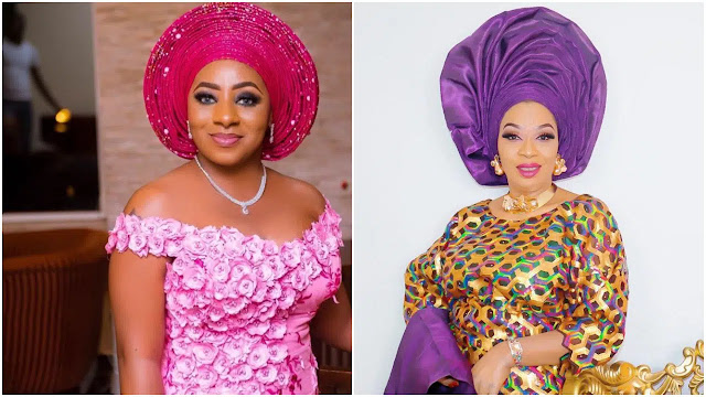 Mide Martins has two girls and she will reap what she sows – Actress Ashabi Olorisa blows hot as she renovates Funmi Martins grave